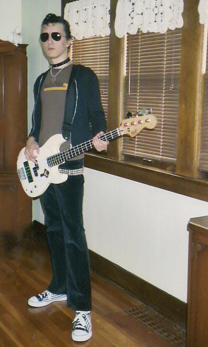 Punk Rock Pastor. Photo by Terri Wing.
