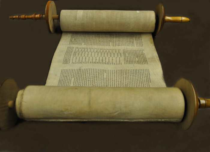 Torah Scroll from Duke Divinity Library.