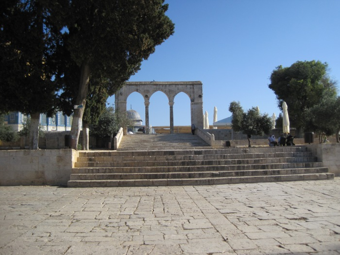 """""""Our feet are standing in your gates, O Jerusalem."""" Photo by Olga Shaffer"""