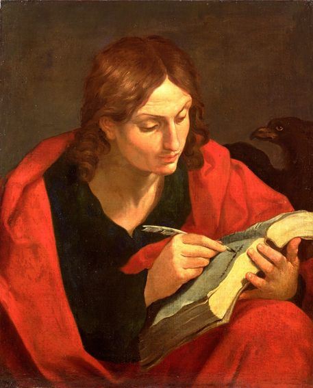 John the Evangelist by Guidi Reni