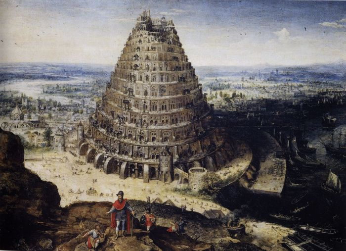 Tower of Babel, by Lucas van Valckenborch, 1594